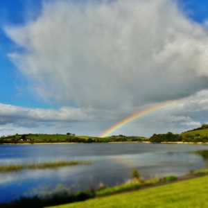 Rainbow over Lough Major